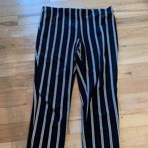 NWOT Jules and Leopold striped crop/ankle pants